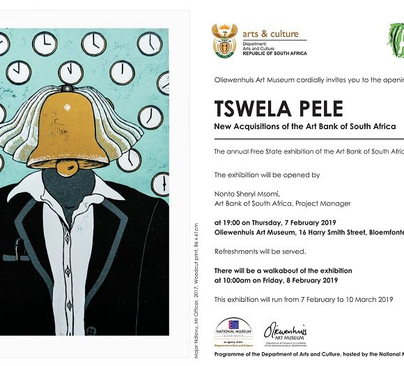 Press Release – Tswela Pele:  New Acquisitions of the Art Bank of South Africa Exhibition