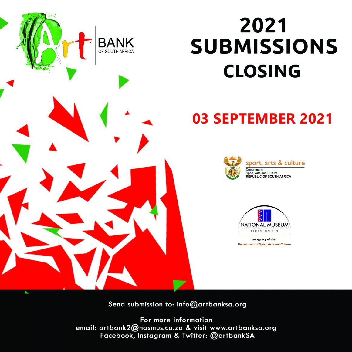 ArtbankSA Acquisitions: 2021 Submissions