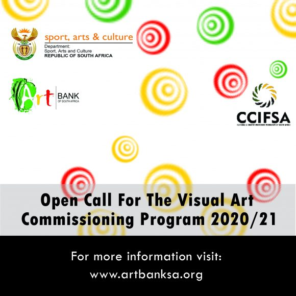 The ArtbankSA in Partnership with CCIFSA Open Call For The Visual Art Commissioning Programme 2020/2021